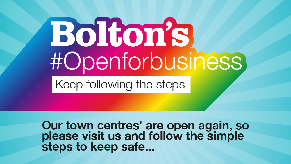 Bolton is open for business!