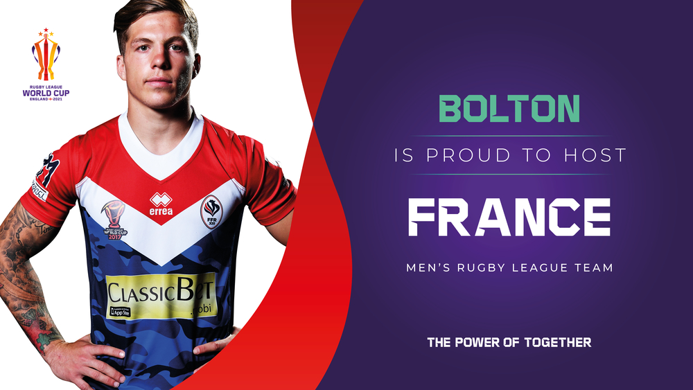 Bolton hosts France in Rugby World Cup 2021